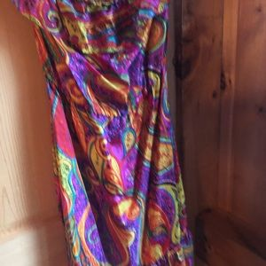 Dresses & Skirts - Trina Turk silk off shoulder dress